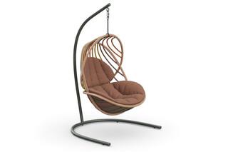 KIDA Hängender Sessel inkl. Standfuss  von  DEDON