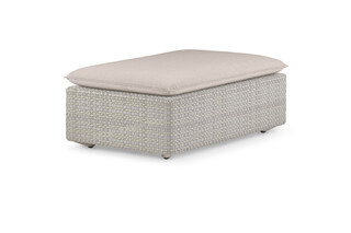 LOU footstool 68x102  by  DEDON