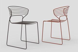 Koki Wire Stuhl  von  Desalto