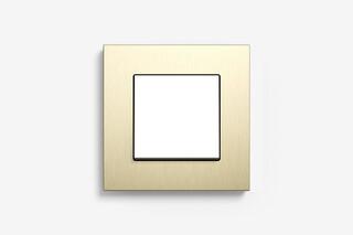 Esprit Metall Aluminium Hellgold  von  Gira