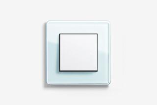 Esprit glass C mint  by  Gira