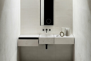 Wall-mount washbasin mixer  by  Fantini
