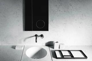 Fontane Bianche - Salvatori + Fantini Wandwaschtischmischer  von  Fantini