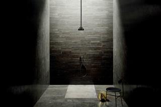 Built-in shower mixer, Rain showerhead, shower arm  by  Fantini