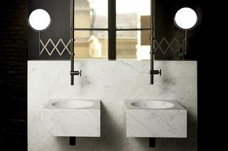 Fontane Bianche - Salvatori + Fantini Deckenmontierter Waschtischmischer  von  Fantini