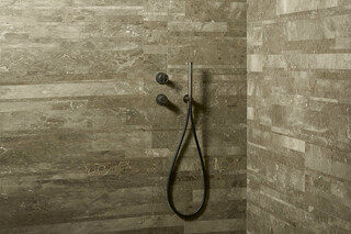 Built-in shower mixer, Rain showerhead, shower arm, shower set  by  Fantini