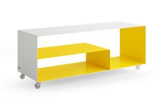 R 111 N Sideboard on rolls  by  müller möbelfabrikation