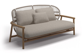 Fern low back 2-seater sofa  by  Gloster Furniture
