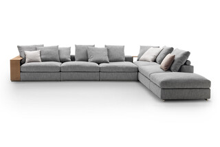 Groundpiece Sectional sofa  by  Flexform