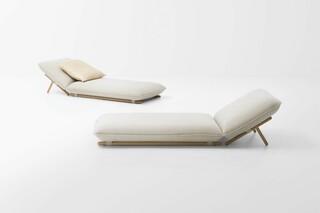 Hiro chaise lounge  by  Paola Lenti