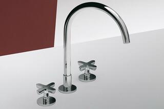 Icona Classic 3-hole washbasin mixer  by  Fantini