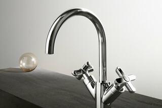Icona Classic Single-hole washbasin mixer  by  Fantini