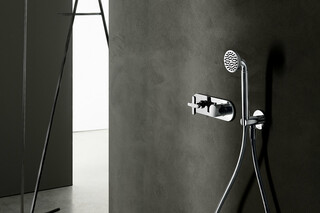 3/4 UP-Thermostatbrausemischer - Brausearm - Regenkopfbrause - Brauseset  von  Fantini