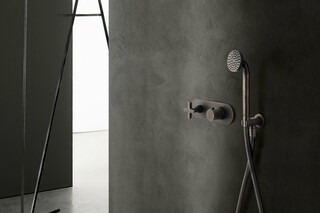 Icona Classic 3/4 built-in thermostatic shower mixer - Shower arm - Showerhead  by  Fantini
