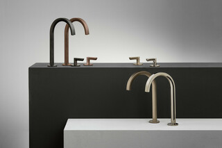Icona Deco 3-hole washbasin mixer  by  Fantini