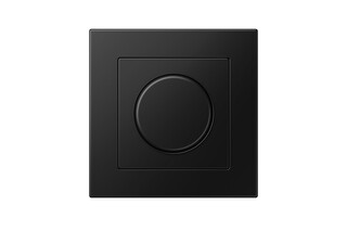 A 550 Rotary Dimmer matt graphite black  by  JUNG