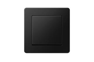 A FLOW Schalter Graphitschwarz matt  von  JUNG