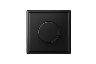LS 990 Rotary dimmer matt graphite black  by  JUNG