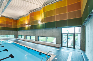 Municipal swimming pool, Kvernevik, Norway  by  RMIG City Emotion