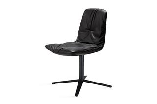 Leya chair with x-base frame  by  Freifrau