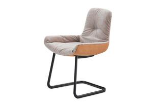 Leya armchair low cantilever  by  Freifrau