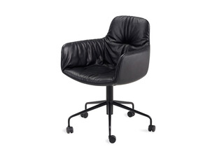 Leya armchair high with swivel base and height adjustment  by  Freifrau