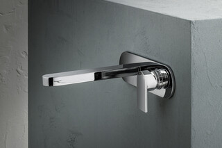 Mare Wall-mount washbasin mixer  by  Fantini