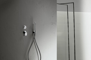 Mare Built-in shower mixer - shower arm - Rain showerhead - Shower set  by  Fantini