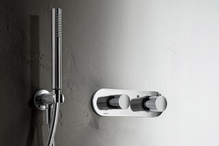 Mare 3/4 built-in thermostatic shower mixer - shower set  by  Fantini