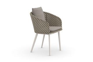 MBRACE armchair aluminum base  by  DEDON
