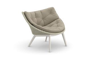 MBRACE lounge chair aluminum base  by  DEDON