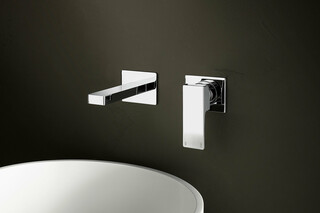 MINT Wall-mount washbasin mixer  by  Fantini