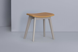 Morph Stool – Fully upholstered  by  Zeitraum