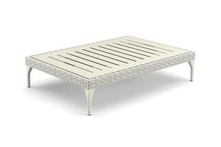 MU coffee table HPL top 90x130  by  DEDON