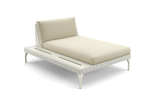 MU daybed incl. shelf right  by  DEDON