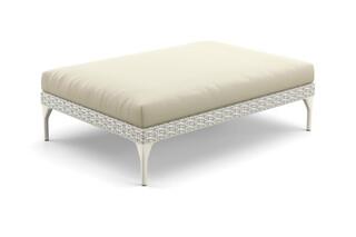 MU footstool 90x130  by  DEDON