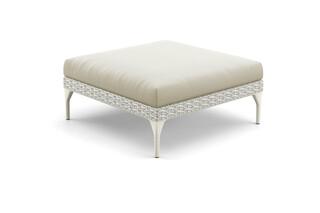 MU footstool 90x90  by  DEDON