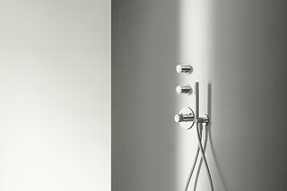 MYO 3/4'' built-in thermostatic shower mixer & 3/4'' stop valve  by  Fantini