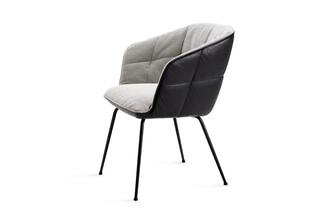 Marla armchair high with steel frame  by  Freifrau