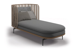 Mistral day bed  by  Gloster Furniture