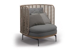Mistral Lounge Chair  von  Gloster Furniture