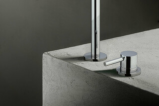 NOSTROMO Deck mounted mixer  by  Fantini