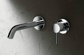 NOSTROMO Wall-mount washbasin mixer  by  Fantini