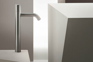 NOSTROMO Single-hole high washbasin mixer  by  Fantini
