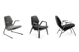 Oblique easy chair  by  Prostoria
