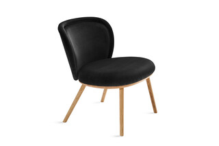Ona Cocktail Chair with wooden frame  by  Freifrau