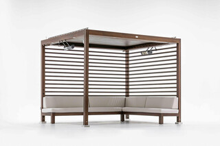 Equinox Cabana with Automated Louvered Roof  by  TUUCI
