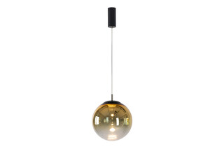 glaskugelleuchte ku3 LED gradient gold  by  mawa design