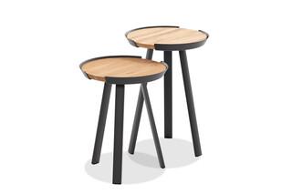 SALVO side table  by  Niehoff Garden