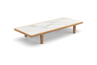 SEALINE coffee table marble  by  DEDON